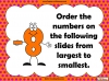 Ordering Positive and Negative Numbers (slide 8/14)