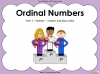Ordinal Numbers - Year 1