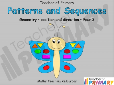 Patterns and Sequences - Year 2 Geometry
