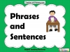 Phrases and Sentences (slide 1/9)