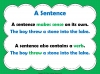 Phrases and Sentences (slide 3/9)
