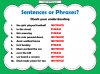 Phrases and Sentences (slide 6/9)
