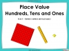 Place Value - Hundreds, Tens and Ones - Year 3 (slide 1/53)