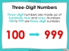 Place Value - Hundreds, Tens and Ones - Year 3 (slide 19/53)