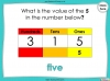 Place Value - Hundreds, Tens and Ones - Year 3 (slide 40/53)
