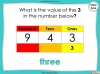 Place Value - Hundreds, Tens and Ones - Year 3 (slide 42/53)