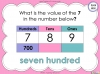 Place Value - Year 3 (slide 26/37)