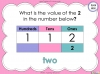 Place Value - Year 3 (slide 27/37)