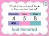 Place Value - Year 3 (slide 28/37)