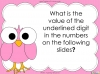 Place Value - Year 3 (slide 33/37)
