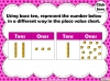 Place Value Charts - Year 2 (slide 41/44)
