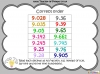 Place Value Decimals (slide 62/65)