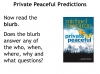 Private Peaceful by Michael Morpurgo (slide 6/99)
