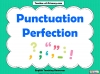 Punctuation Perfection (slide 1/12)