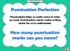 Punctuation Perfection (slide 3/12)