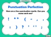 Punctuation Perfection (slide 4/12)