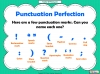 Punctuation Perfection (slide 5/12)