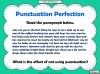 Punctuation Perfection (slide 6/12)