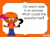 Question Marks - Year 1 (slide 11/54)