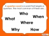 Question Marks - Year 1 (slide 16/54)