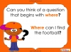 Question Marks - Year 1 (slide 20/54)