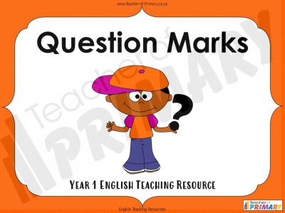 Question Marks - Year 1