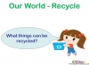 Recycling and Reusing (slide 12/15)