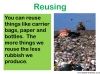 Recycling and Reusing (slide 6/15)