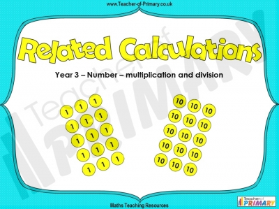 Related Calculations - Year 3
