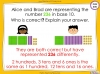 Representing Numbers to 1000 - Year 3 (slide 55/69)