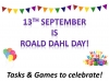 Roald Dahl Day - Activities and Games to Celebrate (slide 1/35)