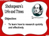 Romeo and Juliet - Free Resource (slide 3/10)