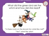 Room on the Broom - KS1 (slide 27/102)