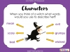 Room on the Broom - KS1 (slide 55/102)