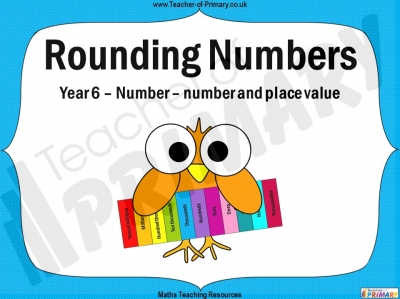 Rounding Numbers - Year 6