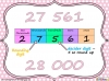 Rounding Whole Numbers - Year 6 (slide 20/33)