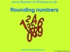 Rounding Whole Numbers (slide 1/28)