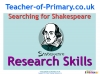 Searching for Shakespeare (slide 1/40)