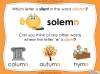 Silent Letters - Year 5 and 6 (slide 7/23)