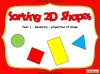 Sorting 2D Shapes - Year 1 (slide 1/25)
