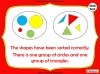Sorting 2D Shapes - Year 1 (slide 16/25)