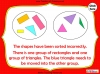 Sorting 2D Shapes - Year 1 (slide 18/25)