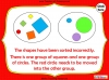 Sorting 2D Shapes - Year 1 (slide 19/25)