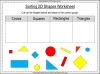Sorting 2D Shapes - Year 1 (slide 4/25)