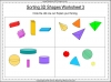 Sorting 3D Shapes - Year 1 (slide 10/26)