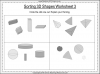 Sorting 3D Shapes - Year 1 (slide 11/26)