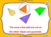 Sorting 3D Shapes - Year 1 (slide 13/26)
