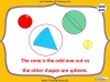Sorting 3D Shapes - Year 1 (slide 15/26)