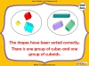 Sorting 3D Shapes - Year 1 (slide 17/26)
