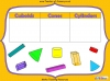 Sorting 3D Shapes - Year 1 (slide 3/26)